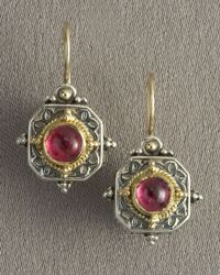 Konstantino | Pink Hexagon Earrings | Lyst