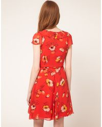 Oasis Multicolor Oasis Tea Dress