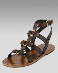 Cole Haan | Brown Deandra Gladiator Sandals | Lyst
