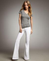 Hudson Jeans - White Ferris Flare Jean - Lyst