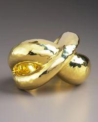 Ippolita - Metallic Cross Hammered Ring - Lyst
