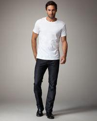 J Brand - Blue Kane Slim Straight-leg Jeans/raw for Men - Lyst