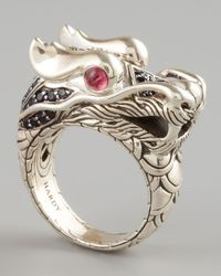 John Hardy | Metallic Naga Dragon Ring for Men | Lyst