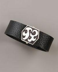 John Hardy | Black Dayak Leather Bracelet for Men | Lyst