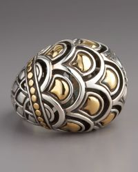 John Hardy Metallic Naga Dome Ring