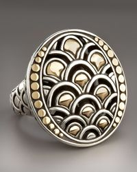 John Hardy | Metallic Naga Oval Ring | Lyst
