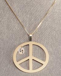 Lana Jewelry | Metallic Peace Necklace | Lyst
