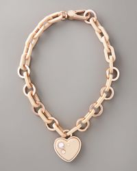 Marc By Marc Jacobs | Natural Heart Charm Necklace | Lyst