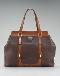 Marc Jacobs | Brown Crosby Perry Satchel | Lyst