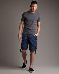 Original Paperbacks - Blue Chatham Cargo Shorts, Black for Men - Lyst