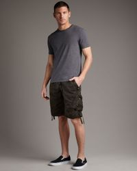 Original Paperbacks | Natural Remix Camo Shorts, Olive for Men | Lyst