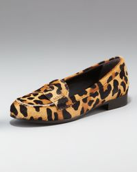 Prada | Multicolor Classic Leopard Loafer | Lyst
