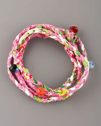 Same Sky | Multicolor Beaded Woven Wrap Bracelet | Lyst