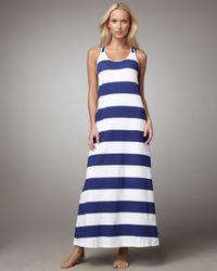 Tommy Bahama   Blue Striped Maxi Dress   Lyst
