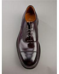 Alden Brown Oxford Shoe for men
