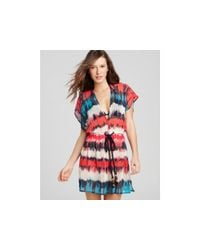 MILLY | Multicolor Azores Dip-dye Dress | Lyst