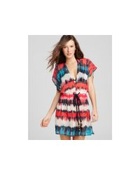 MILLY - Multicolor Azores Dip-dye Dress - Lyst
