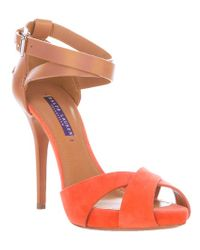Ralph Lauren Brown Jessira Sandal