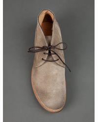 Silvano Sassetti Brown Desert Boot for men