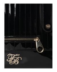 Ted Baker Black Quilted Large Bowling Bag