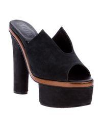 Acne Studios Black Audrey Shoe
