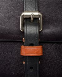 Acne Studios Black Coy Leather Camera Bag with Strap