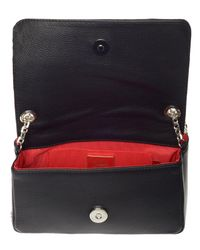 Christian Louboutin Black Artemis Studded Shoulder Bag