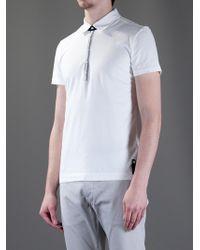 Fendi White Polo Shirt for men