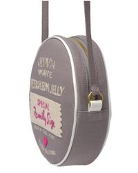 Olympia Le-Tan Gray Exclusive Petroleum Jelly Handmade Shoulder Bag