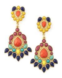 Panacea | Multicolor Tribal Earrings | Lyst