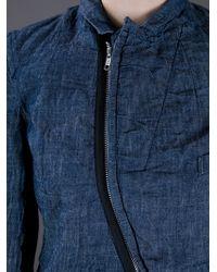 Comme des Garçons Blue Denim Jacket