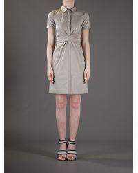 Elie Tahari Brown Mimi Dress