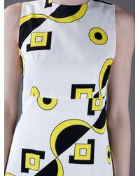 Marni | White Print Dress | Lyst