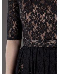 Rachel Zoe Black Amanda Lace Dress