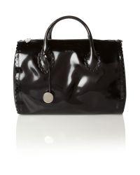 Furla Black Futura Bowler Bag