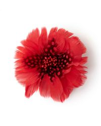 Hobbs | Red Fifi Corsage | Lyst