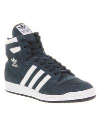Adidas Blue Decade Hi Og Dk Indigowht for men