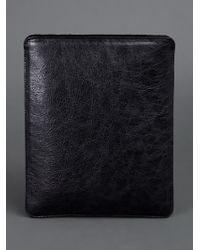 Balenciaga Black Ipad Cover