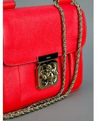 Chloé Red Elise Bag