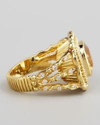Doris Panos | Yellow Daphne Citrine Ring | Lyst