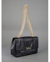 Giuseppe Zanotti Black Shoulder Bag