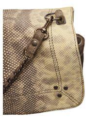Jérôme Dreyfuss Multicolor Snake Skin Bag