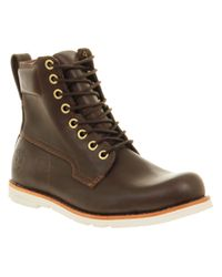Timberland Earth Keeper 6 Inch Brown Leather for men