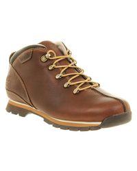 Timberland Brown Splitrock Hiker Tan Smooth Lthr for men