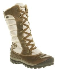 Timberland Brown Mount Holly Duck Boot
