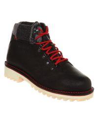 Wolverine Tyrol Hiker Boot Black Leather for men