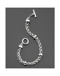 Lauren by Ralph Lauren | Metallic Braided Chain | Lyst