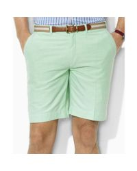 Ralph Lauren - Green Preppy Oxford Shorts for Men - Lyst