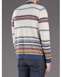 Remi Relief Gray Knit Cardigan for men