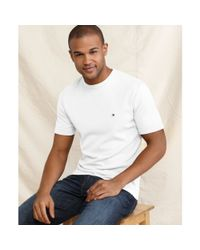 Tommy Hilfiger White American T Shirt for men